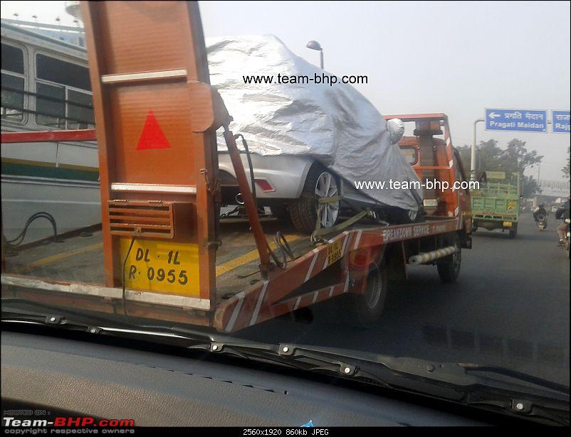 Scoop pics : Small unknown concept under cover *Update* It's the Tata Indica Vista-20120103-14.48.01.jpg