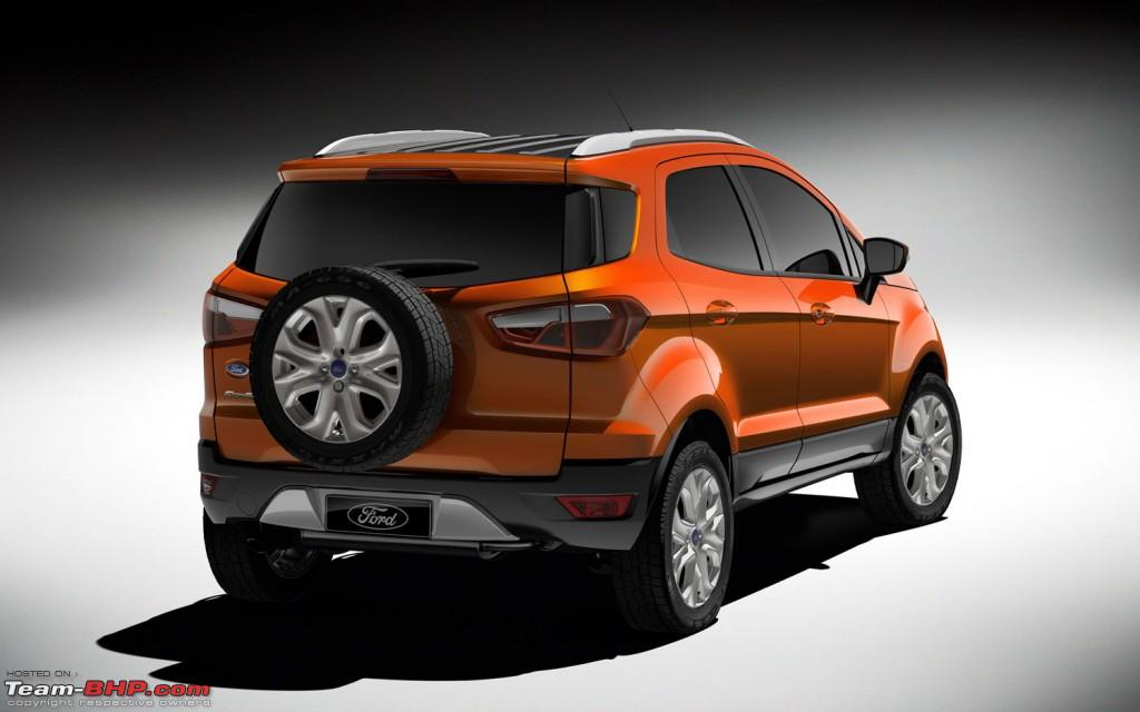 Ford EcoSport Revealed - Team-BHP