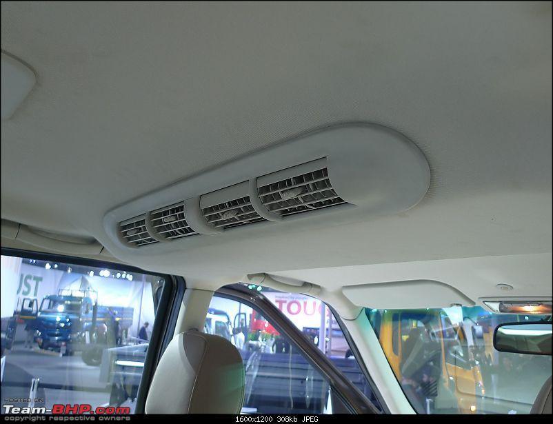 Tata Safari Storme : Auto Expo 2012-interior-1-11.jpg