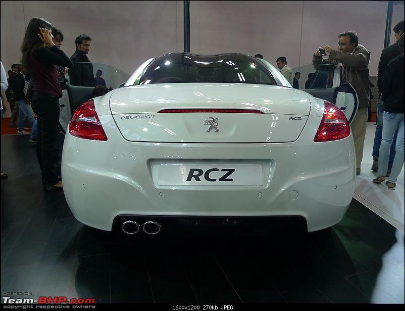 Peugeot (including 508 sedan) @ Auto Expo 2012-peugeot-rcz-3.jpg