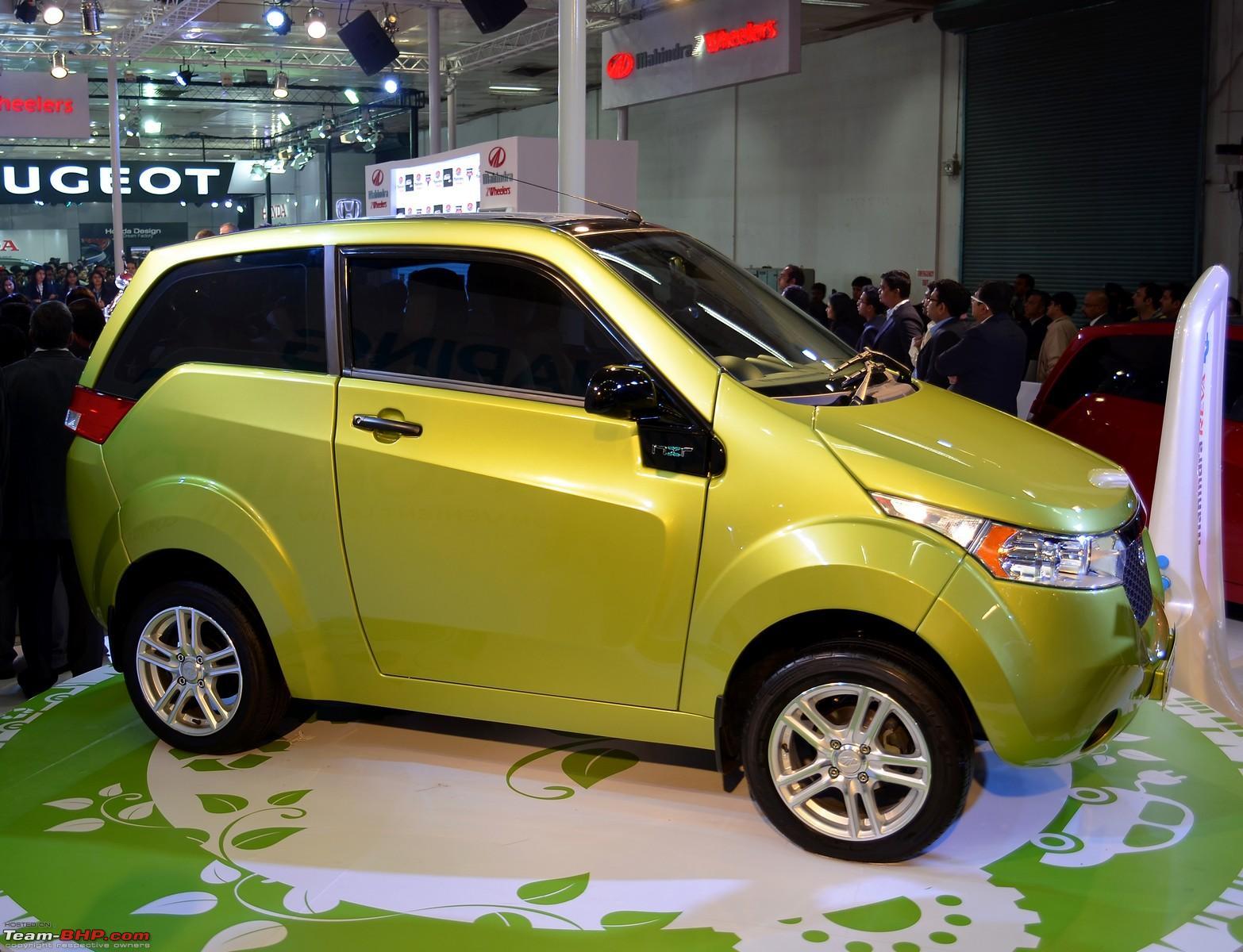 Reva NXR : Auto Expo 2012 - Team-BHP