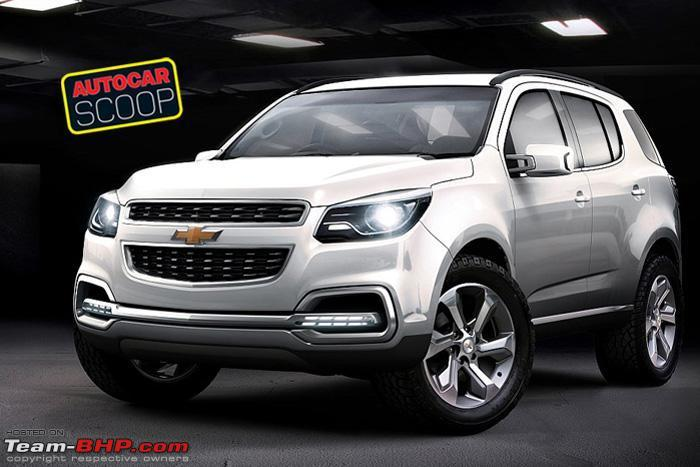 Chevy Suv Models >> Chevrolet's all-new TrailBlazer SUV debuts. EDIT : Might come to India! - Page 2 - Team-BHP
