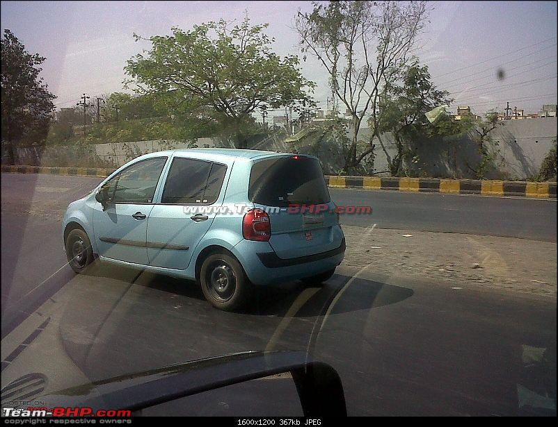 SCOOP Renault's new small car *Modus* caught testing. EDIT : New pics on Page 6-5.jpg
