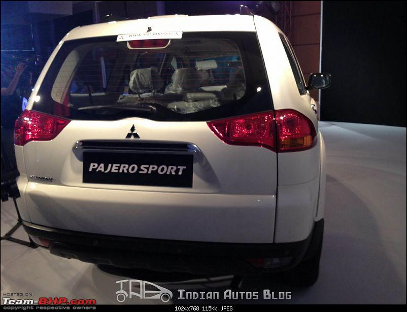 New Mitsubishi Pajero Sport! *UPDATE* Price reduced to 22.56 Lakh!-mitsubishipajerosportlaunch3.jpg