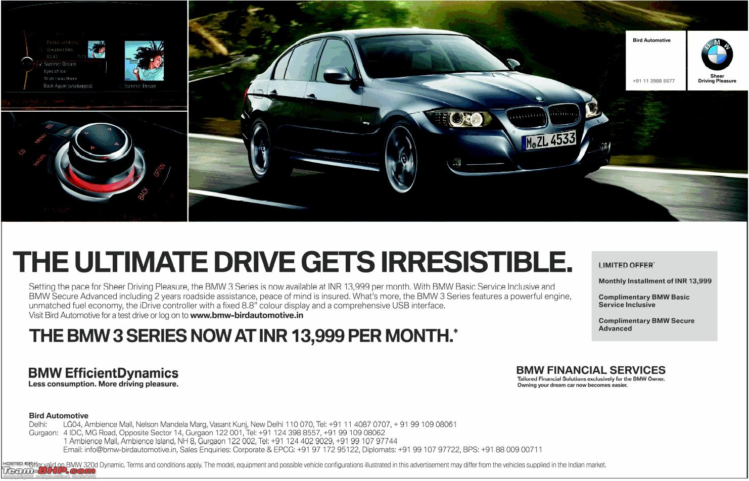 The BMW X1 at Rs.15,999 EMI (limited time offer) - Page 6 - Team-BHP