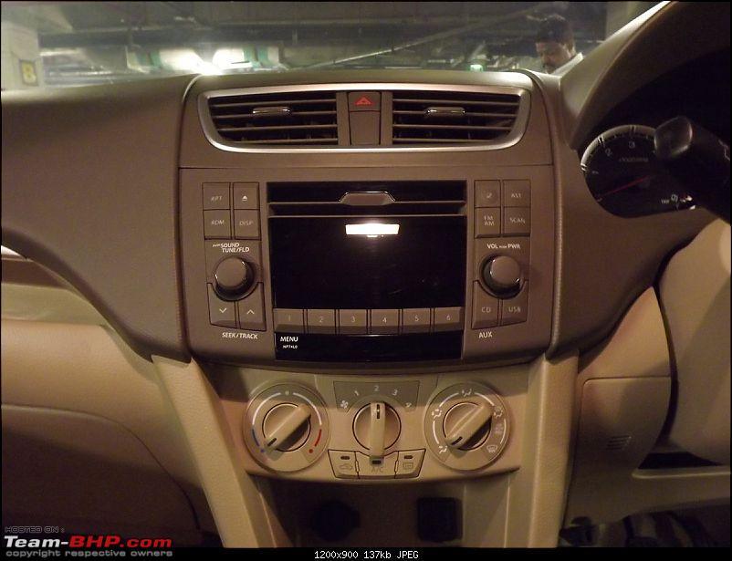 Maruti Ertiga 7-Seater : Auto Expo 2012-stereo-air-con.jpg
