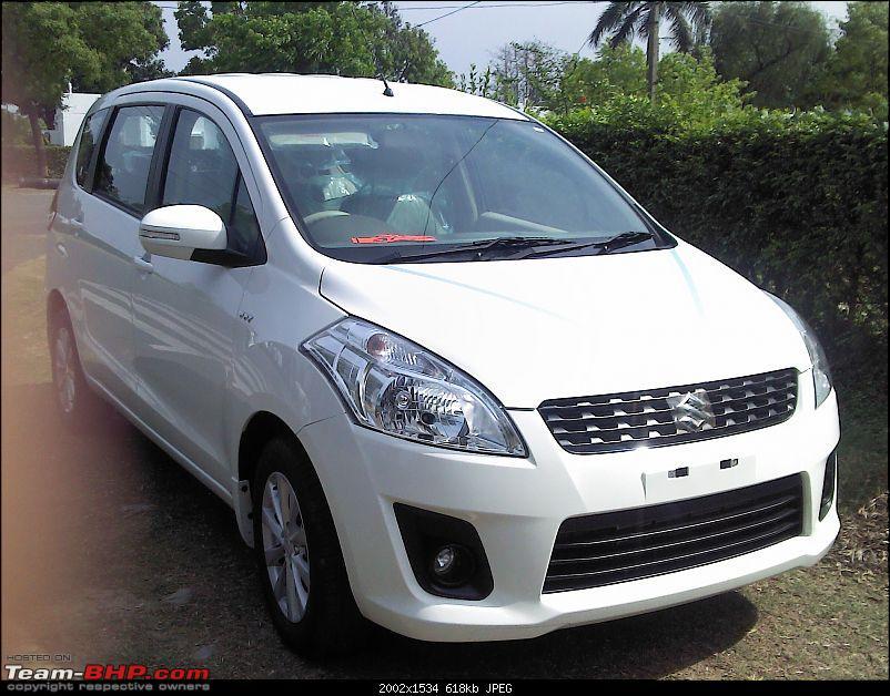Maruti Ertiga 7-Seater : Auto Expo 2012-20120419-14.54.53.jpg