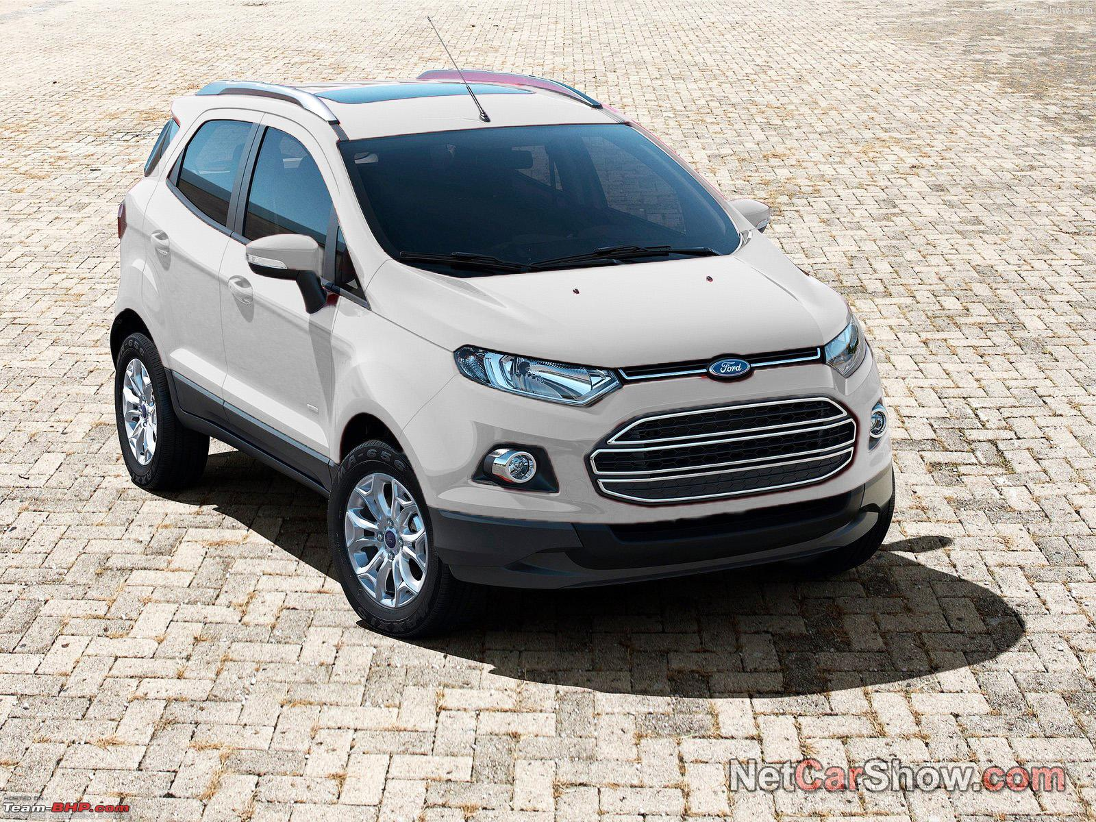 Ford Ecosport Preview Auto Expo  Edit Indian Spy Pics On Pg