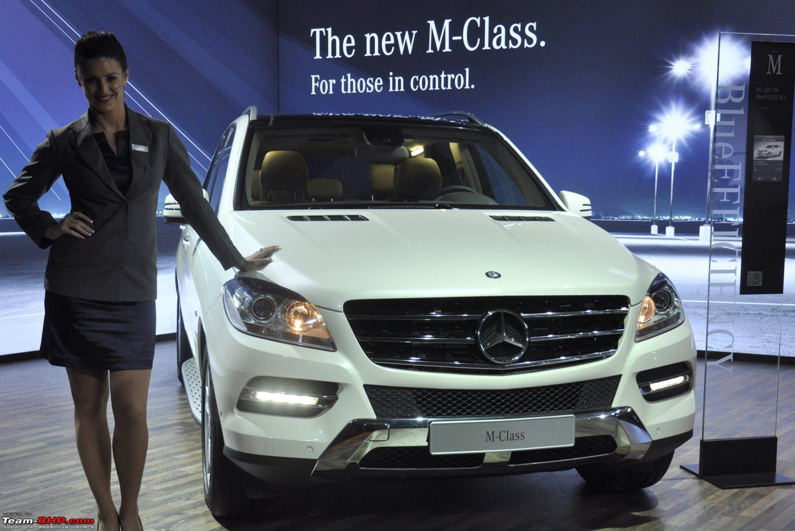 the new mercedes m-class (w164) launched - starting at rs. 56,90,000