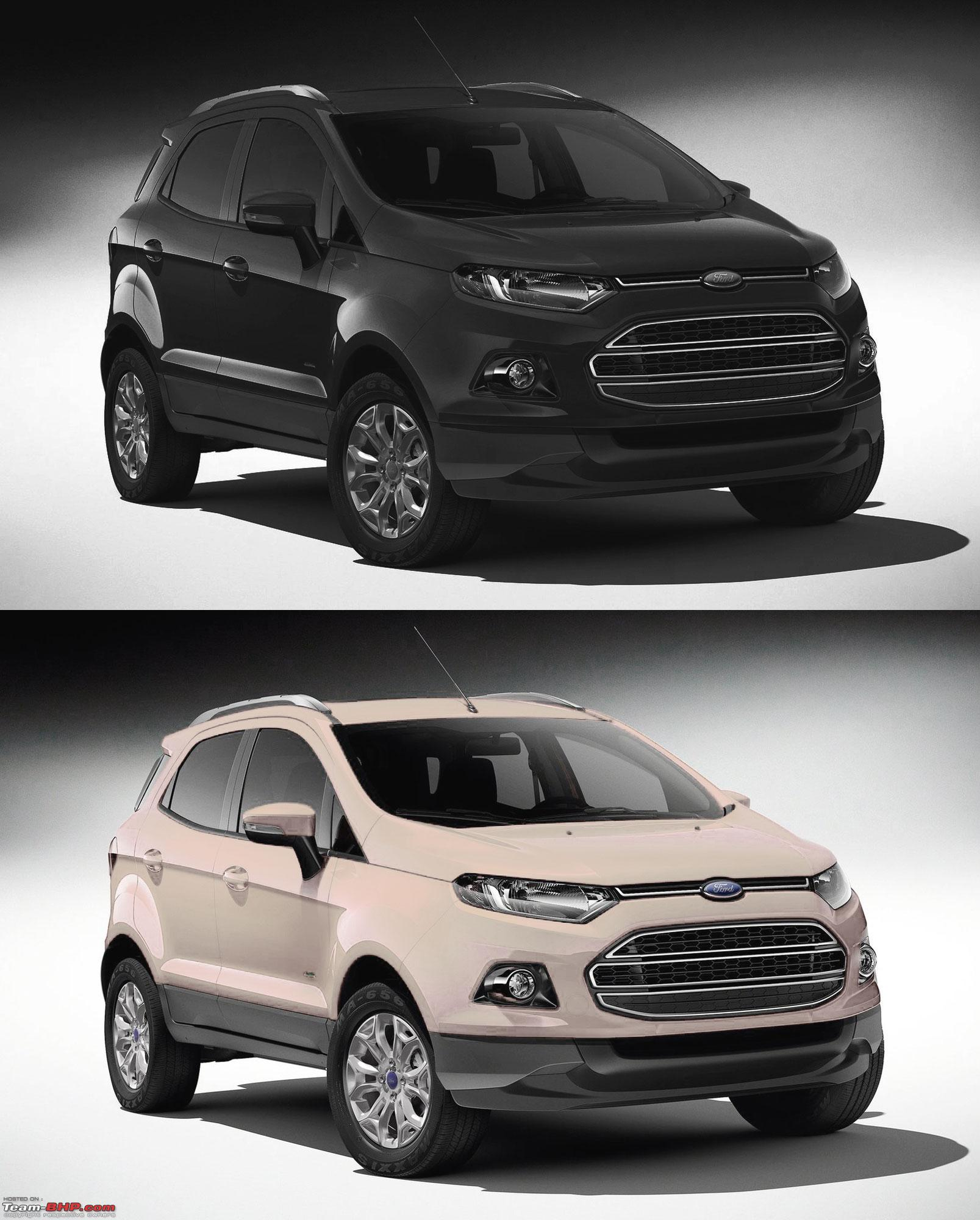 Ford EcoSport Preview @ Auto Expo 2012. EDIT : Indian Spy Pics on Pg