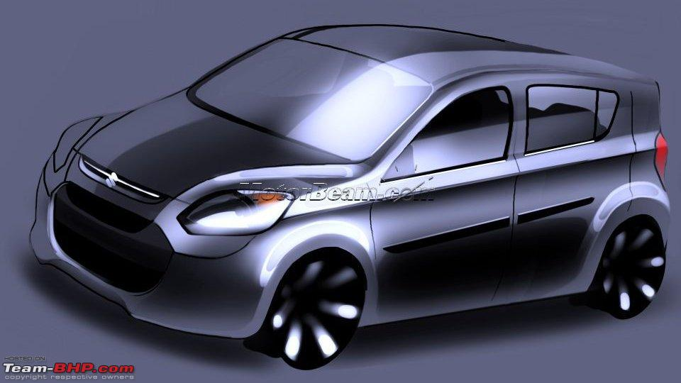 New maruti alto 800 edit clear scoop pictures on page 18 &; 20 now
