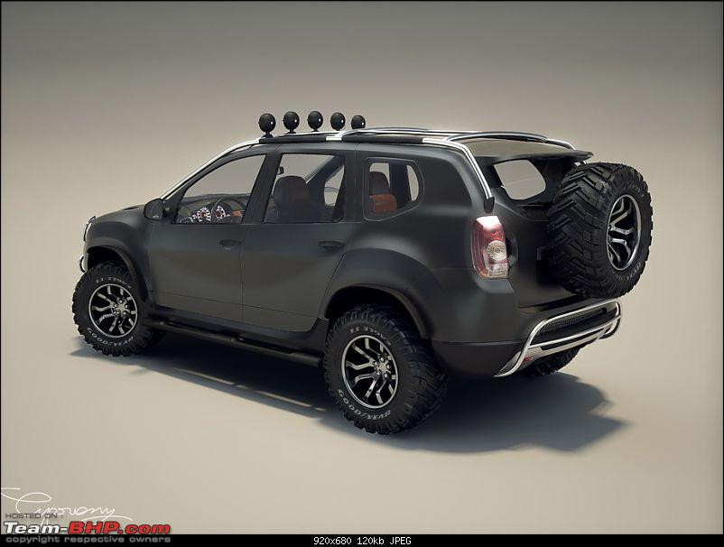 Renault (including Duster Unveil) @ Auto Expo 2012 - EDIT: Now launched at 7.19 Lacs-customizedduster3.jpg
