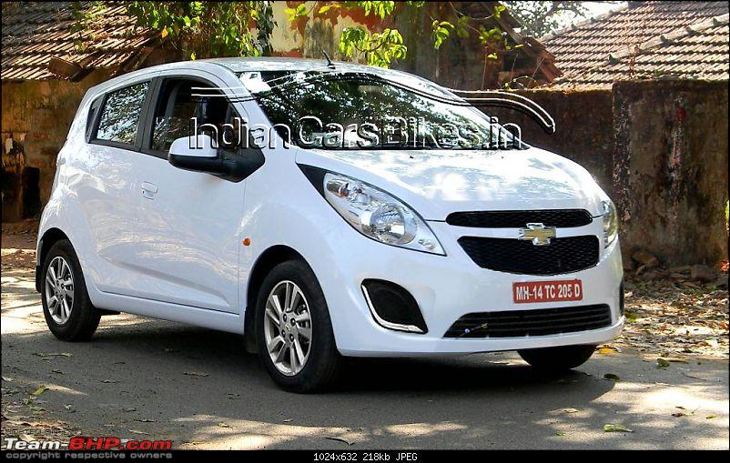 Facelifted Chevy Beat. EDIT: Revealed @ Auto Expo 2014-2012chevroletbeatfaceliftrender.jpg