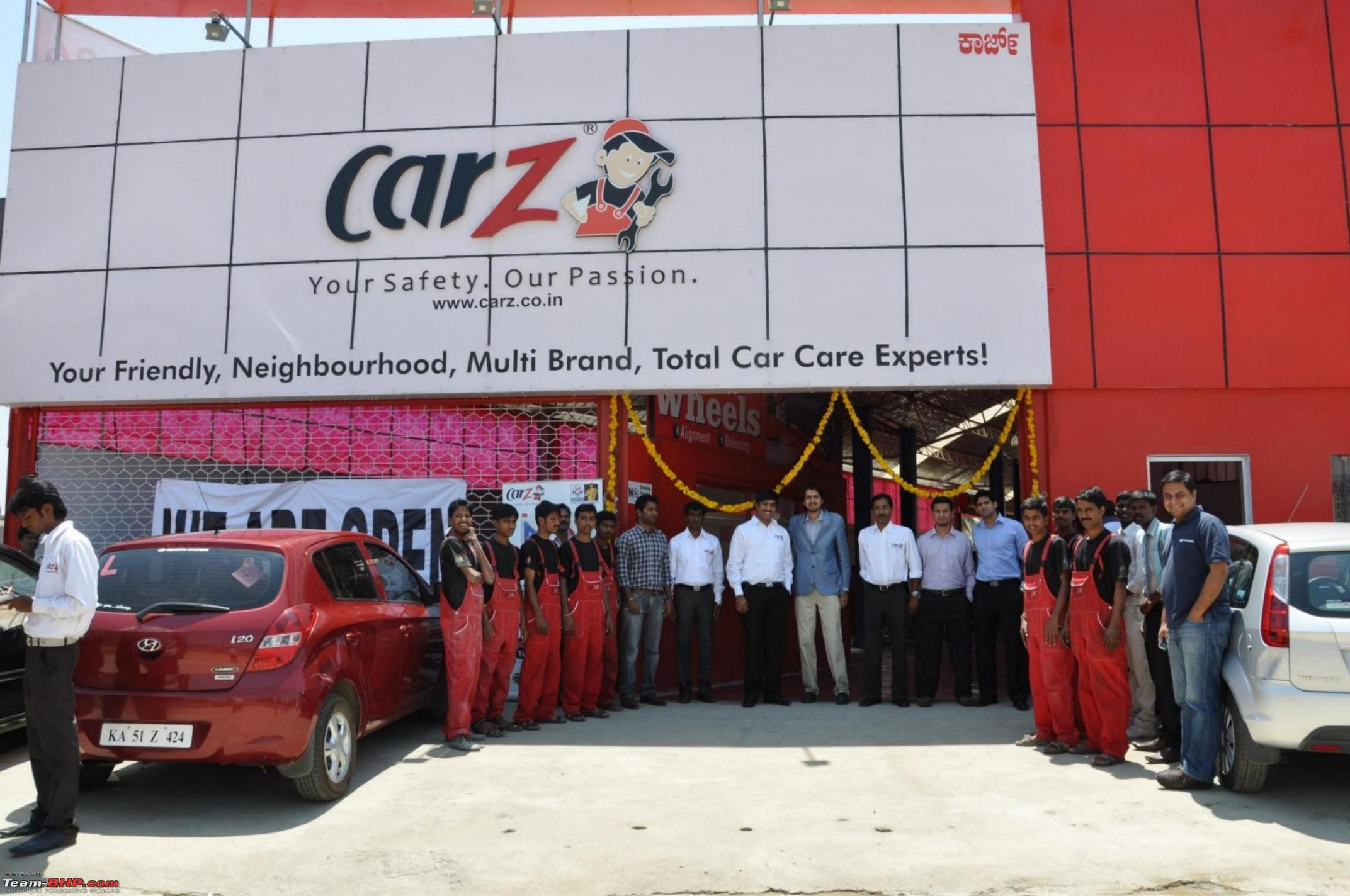 CarZ launches extended warranty plans in India Team BHP