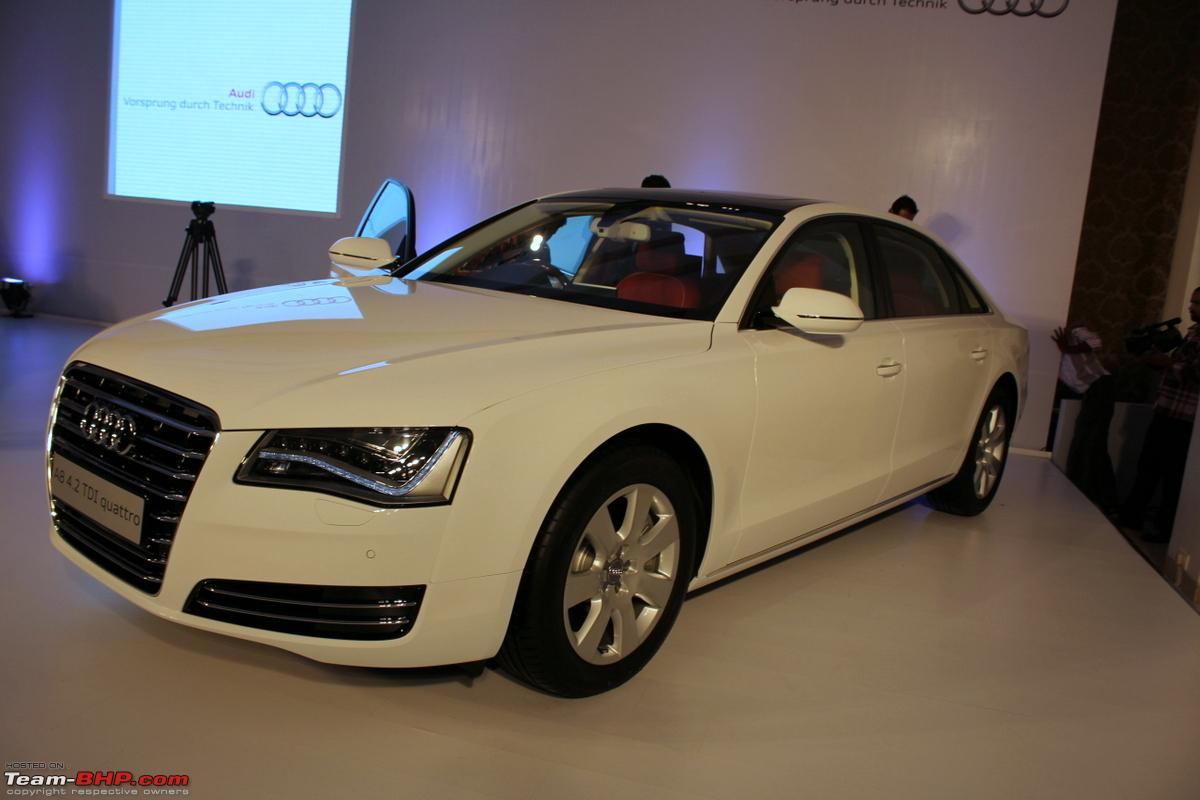 Audi Launches The A8 L 4 2 Tdi Official Launch Report