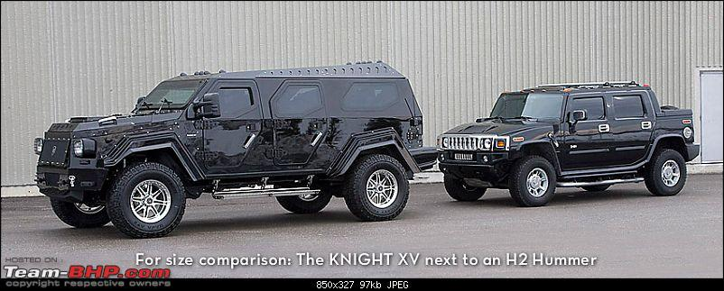 Conquest launches Evade SUV in India-knight-vs-hummer.jpg