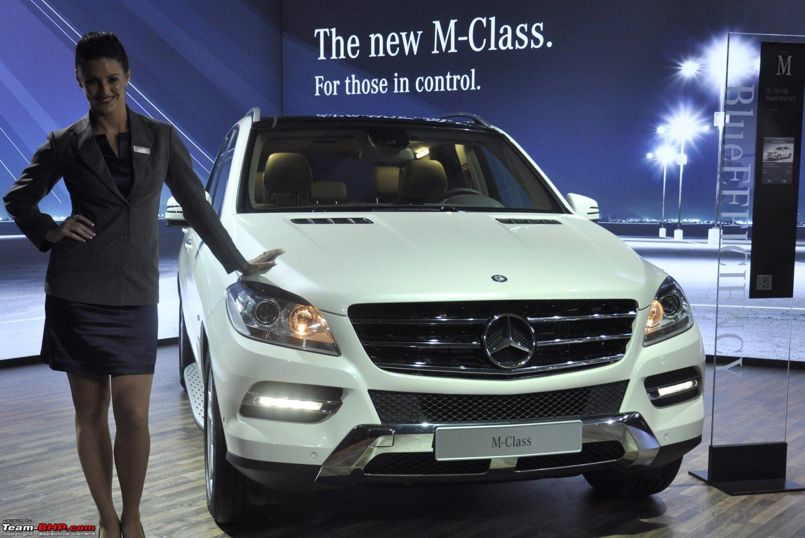 Mercedes benz to assemble m gl class suvs in india for Mercedes benz suv india
