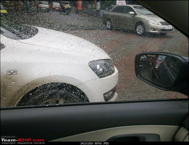 Polo with bluetooth HU & steering audio controls spotted edit:1.5L, 94bhp Diesel also-29082012735.jpg