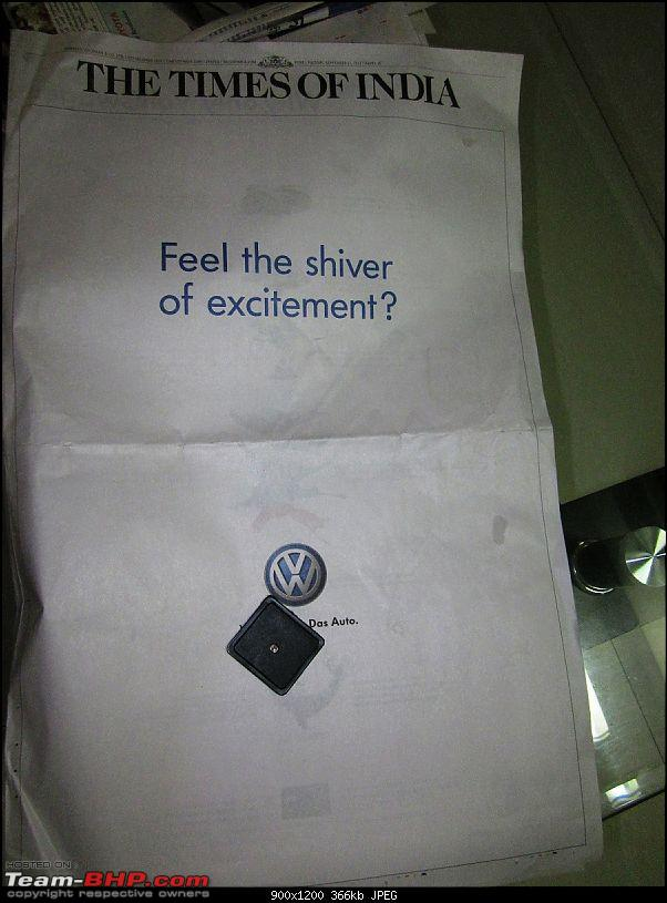 Times of India? Nope, VW of India. EDIT: Vibrating ad on 11 Sept 2012 (Pg 26)-img_1636.jpg