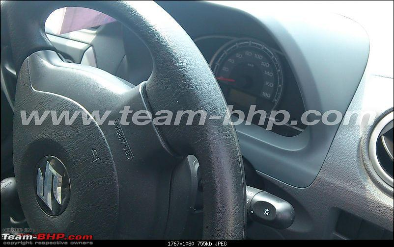 New Maruti Alto 800. EDIT : CLEAR scoop pictures on Page 18 & 20 - Now Launched-airbag.jpg
