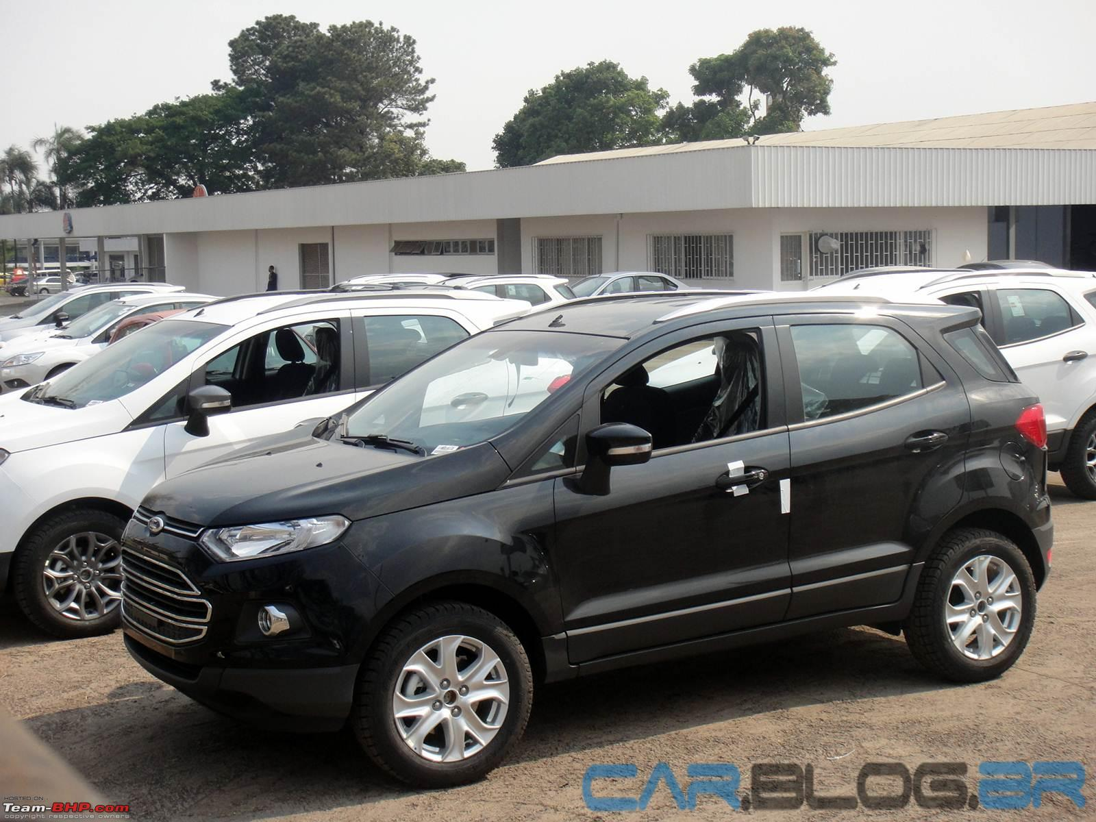 Ford ecosport preview auto expo 2012 edit indian spy pics on pg
