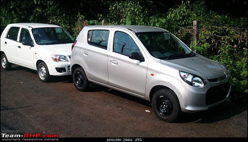New Maruti Alto 800. EDIT : CLEAR scoop pictures on Page 18 & 20 - Now Launched-altocompared.jpg