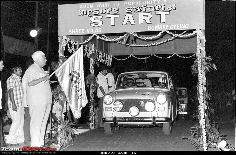 A Nostalgic look at the Indian Racing Scene-fiat-mysore-safari-mr.-irani-owner-jawa-motorcycles-flagging-us-off.jpg