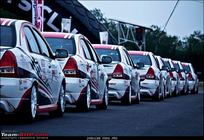My experience driving the Toyota ETIOS Motor Racing series-lined-up.jpg