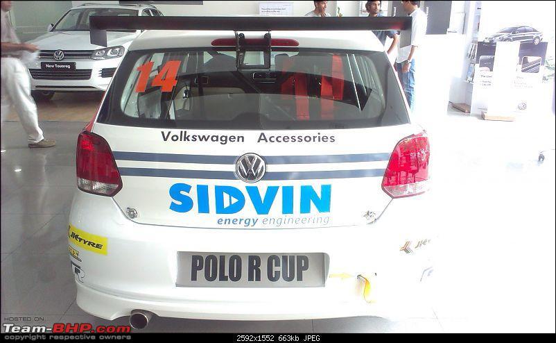 Polo R Cup on display at VW Palace Cross, Bangalore-imag0242.jpg