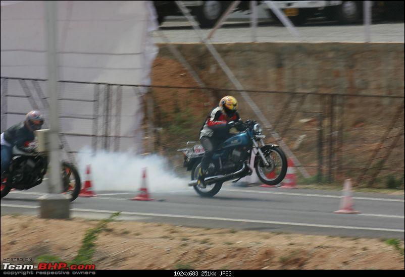 Deccan Quartermile Drag II- June 20th and 21st 2009-wheeling-rajdoot-rd350.jpg