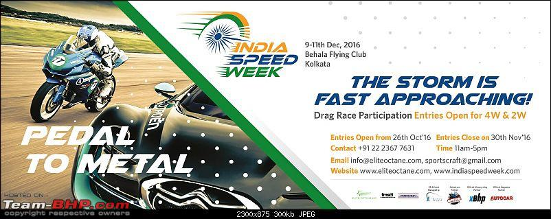 2016 India Speed Week to be held from December 9 @ Kolkata-image.jpeg