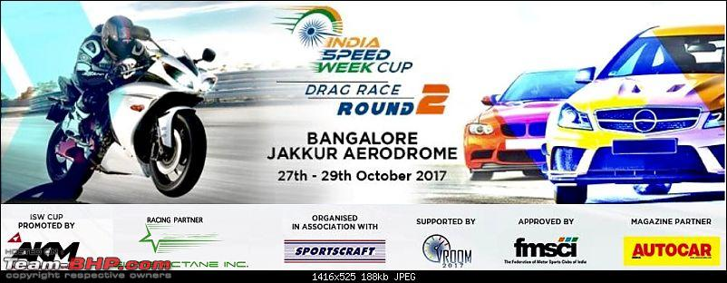 India Speed Week: Drag Racing in Bangalore, 27th - 29th October, 2017-isw-r2-banner.jpg
