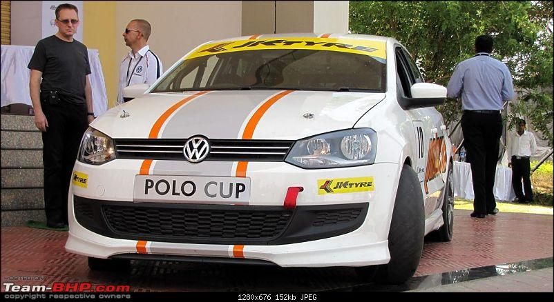 Report and PICS : VW Polo Cup! First race at Pune-1.jpg