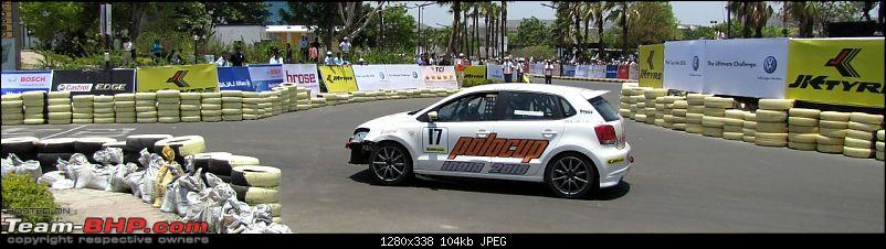 Report and PICS : VW Polo Cup! First race at Pune-14.jpg