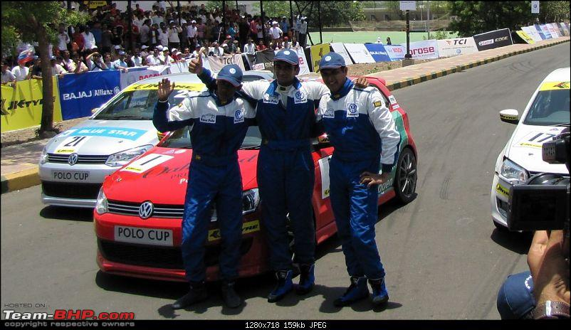 Report and PICS : VW Polo Cup! First race at Pune-16.jpg