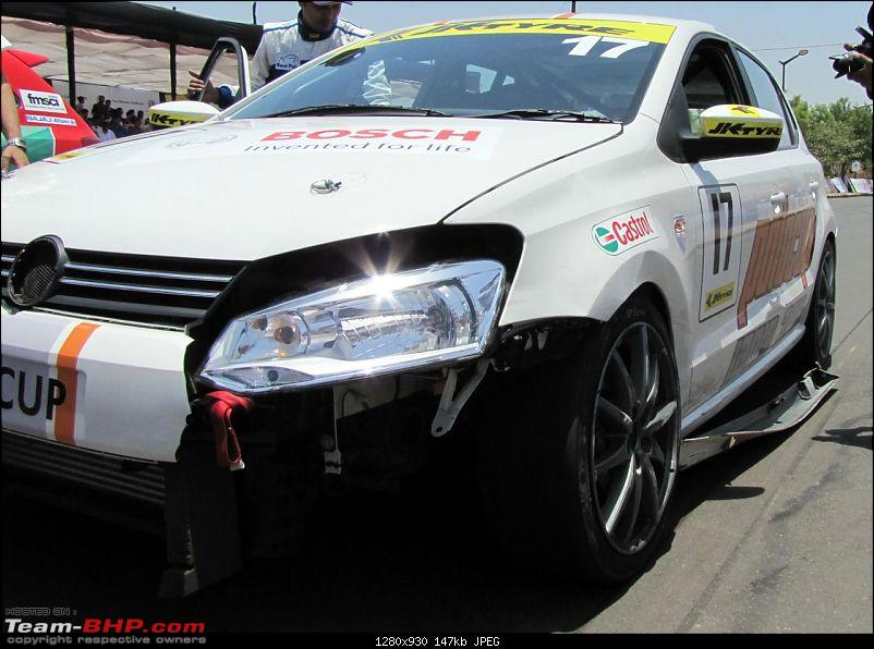 Report and PICS : VW Polo Cup! First race at Pune-18.jpg