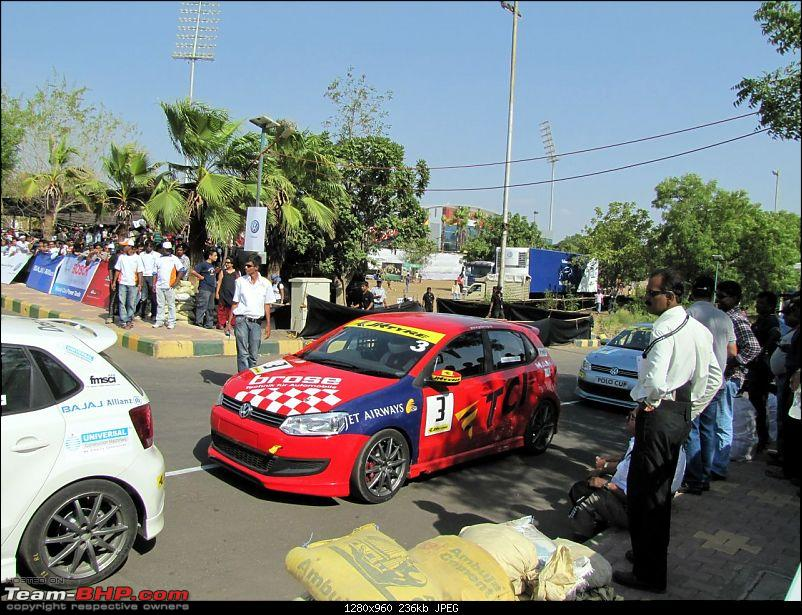 Report and PICS : VW Polo Cup! First race at Pune-2.jpg