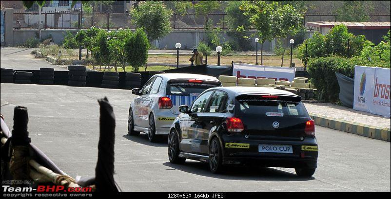 Report and PICS : VW Polo Cup! First race at Pune-15.jpg