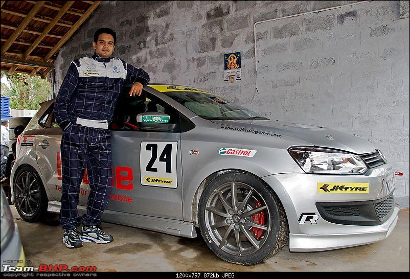 My Experience - Racing in the 2011 VW Polo R Cup!-withpolo01.jpg