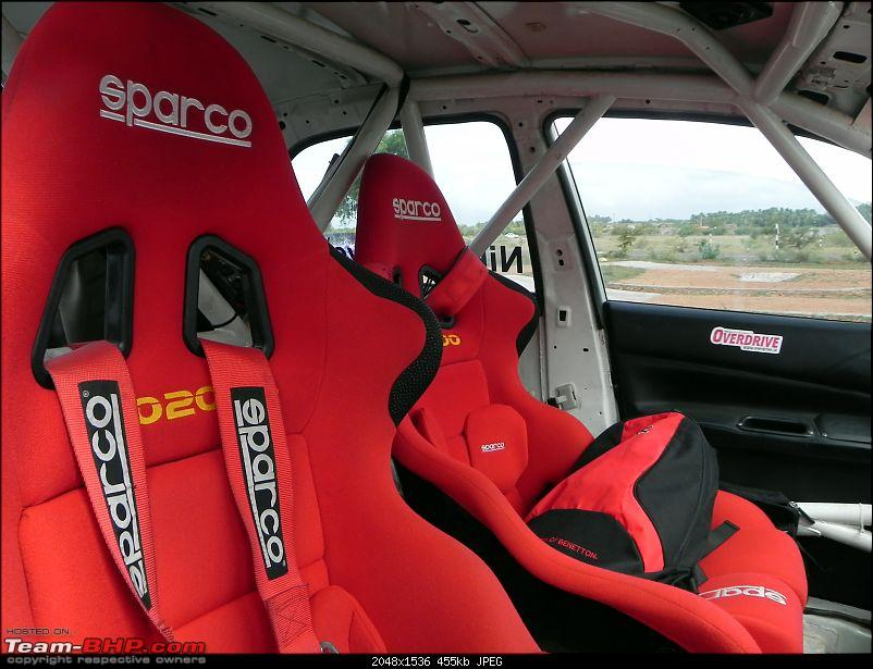 Want to ride shotgun with a rallyist in a Cedia? EDIT - Member Experiences Added-sparco-seats.jpg