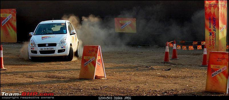 Maruti Suzuki Autocross at Autocar Performance Show. EDIT: Video, Pics & Report added-autocross-2011-mumbai-6.jpg