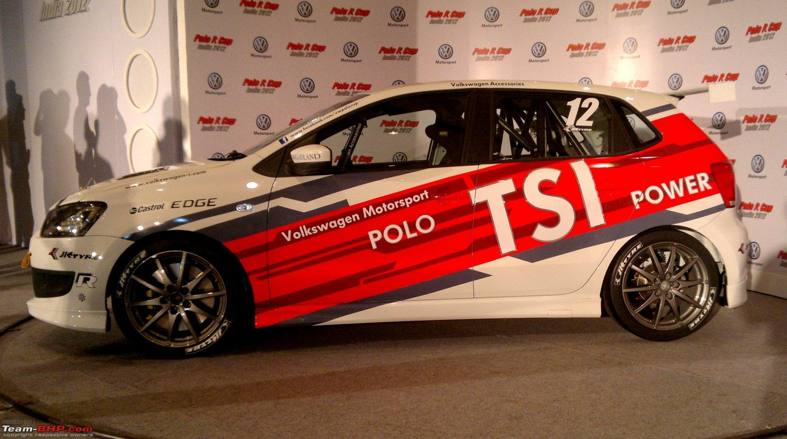 Volkswagen Polo R Cup 2012 Launched New 180 Bhp Petrol Cars