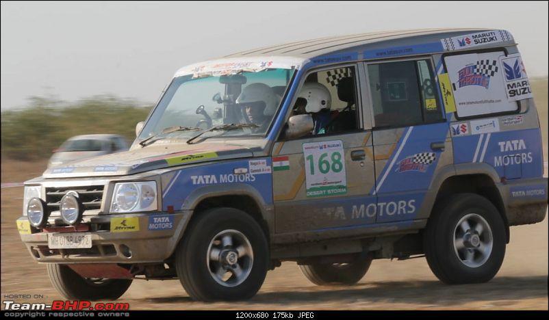Tata Motors launches Blaze De Rajasthan TSD Rally-tata-sumo-gold-desert-storm-2012.jpg