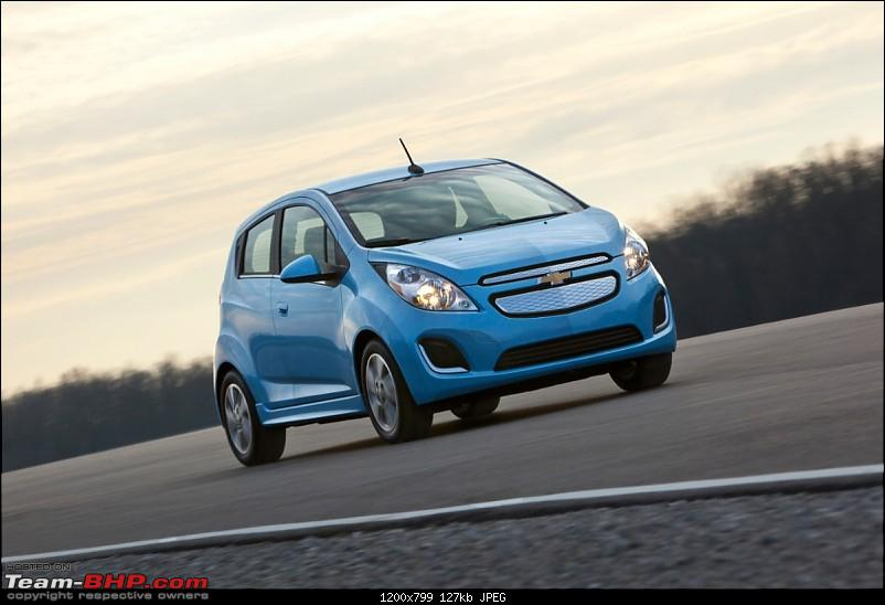 The First Affordable EV: Chevrolet Beat EV, details revealed-2014chevroletsparkev022medium.jpg