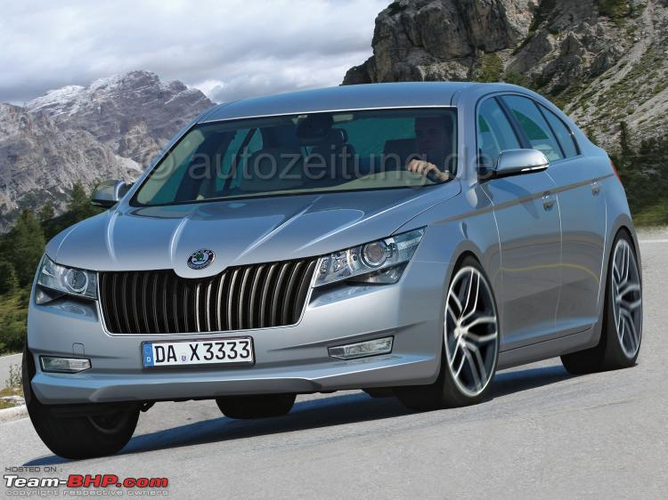 SCOOP: Skoda Superb Facelift