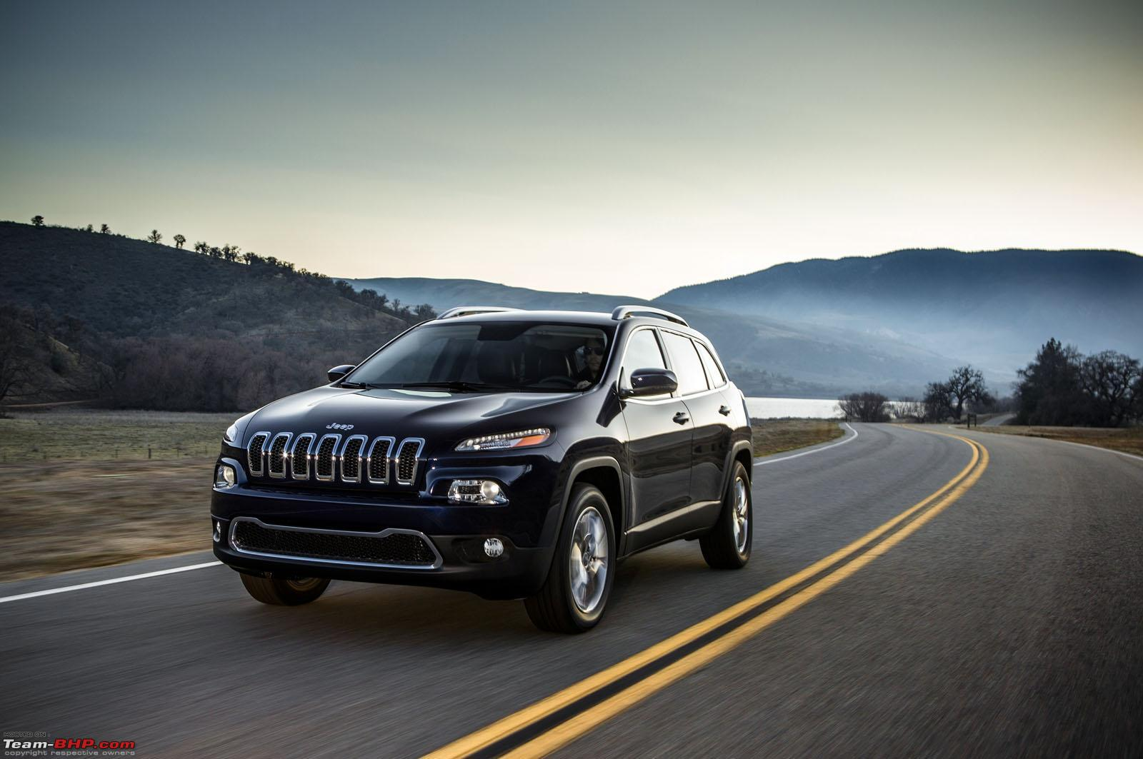 2014 jeep cherokee unveiled jeep liberty replacement team bhp. Cars Review. Best American Auto & Cars Review