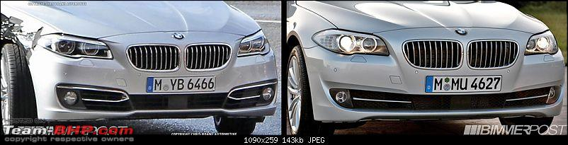2014 BMW F10 5 Series Facelift - Caught Undisguised in China!-f105serieslci.jpg