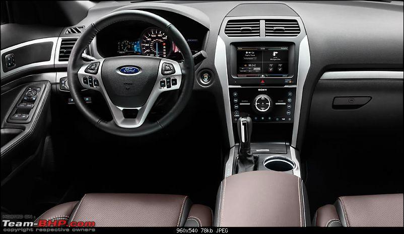 2013 Ford Explorer, now to be launched in China on 28 March 2013-interior.jpg