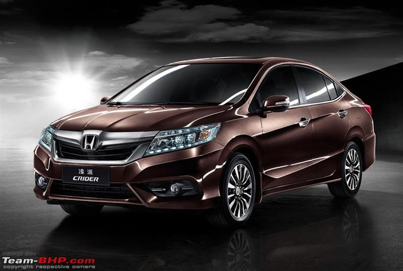The Honda Crider New Sedan At Shanghai Auto Show 2013 LEAKED