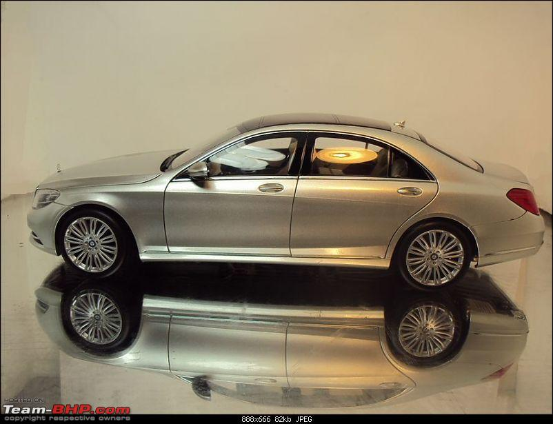 YES! The new 2014 Mercedes S-Class (W222)-2014mercedessclassscalemodelside.jpg